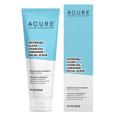 ACURE - Incredibly Clear Charcoal Lemonade Facial Scrub