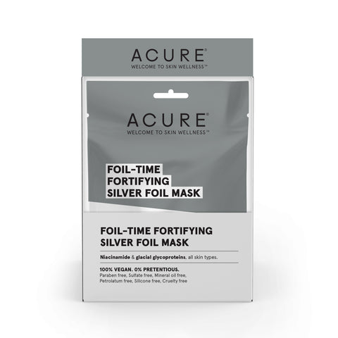 ACURE - Foil-Time Fortifying Silver Foil Mask