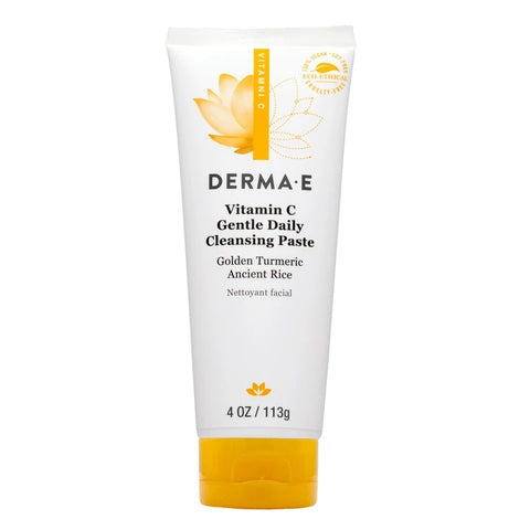 DERMA E - Vitamin C Gentle Daily Cleansing Paste