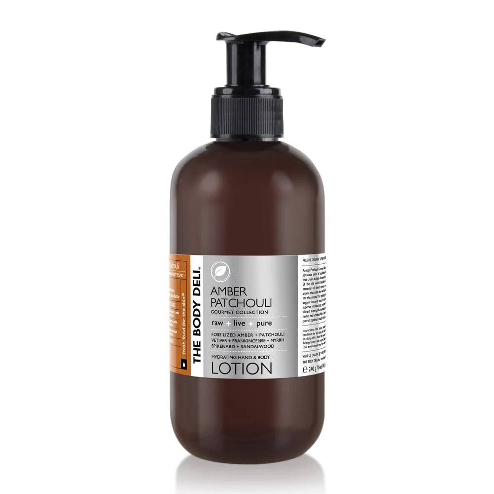 THE BODY DELI - AMBER PATCHOULI Lotion