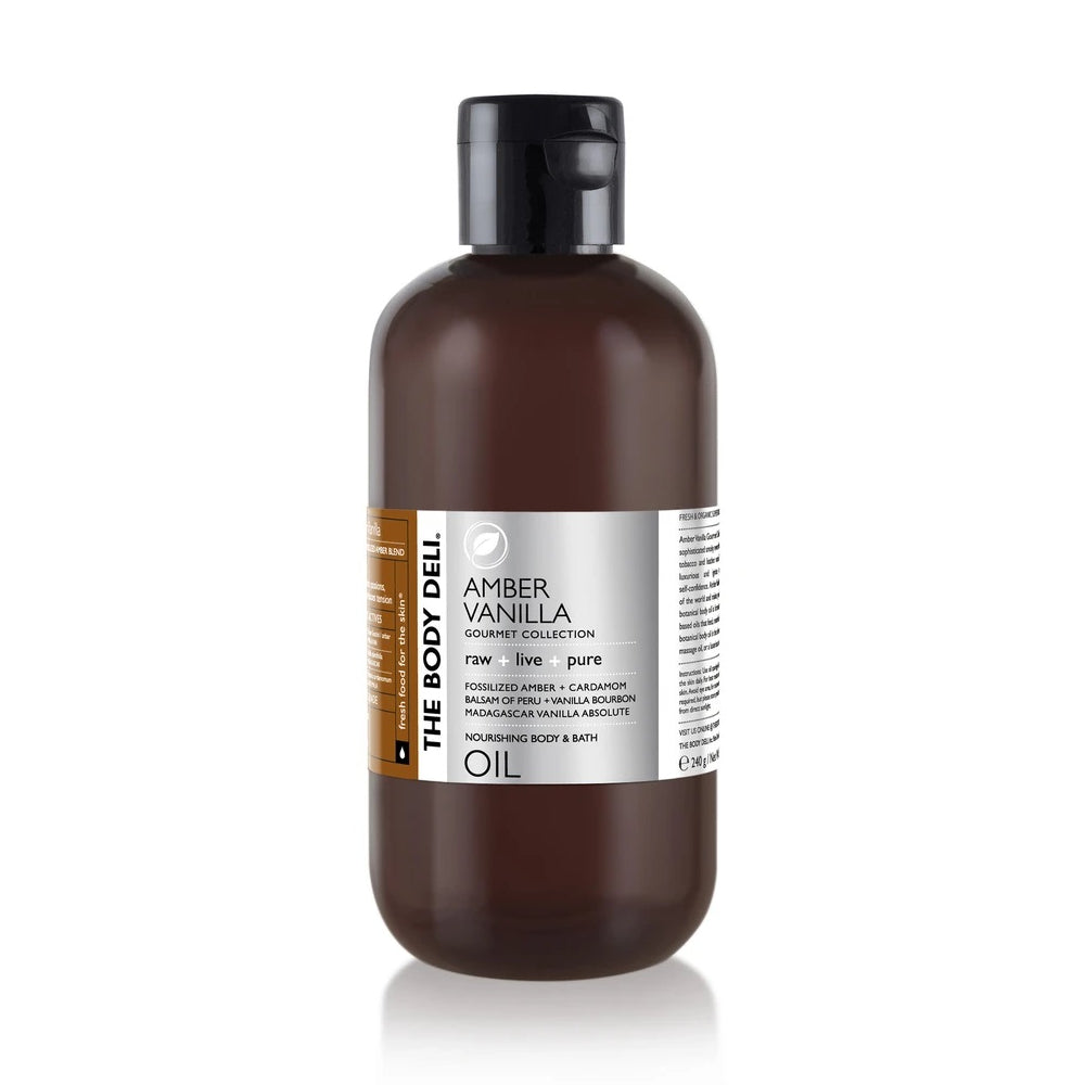 THE BODY DELI - AMBER VANILLA Body Oil