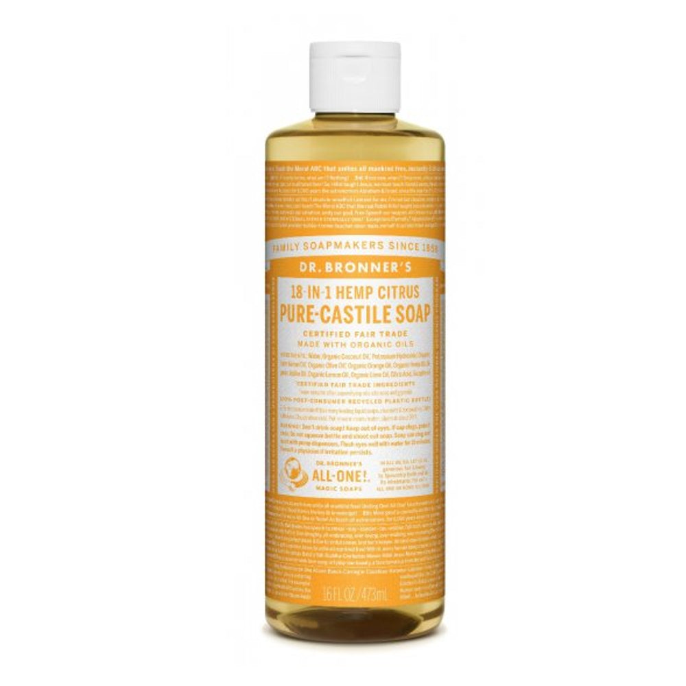 DR. BRONNER'S - Citrus Pure-Castile Liquid Soap - 16 oz.