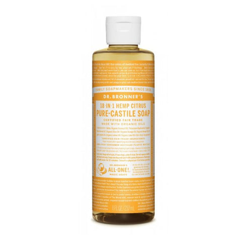 DR. BRONNER'S - Citrus Pure-Castile Liquid Soap - 8 oz.