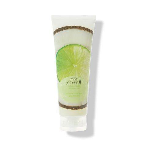 100% PURE - Coconut Lime Shower Gel