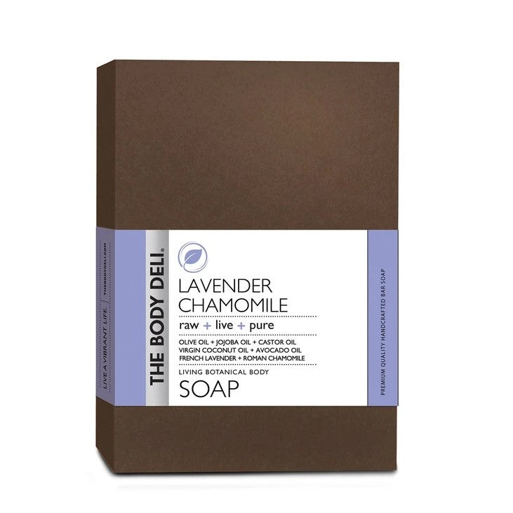 THE BODY DELI - LAVENDER CHAMOMILE Botanical Bar Soap