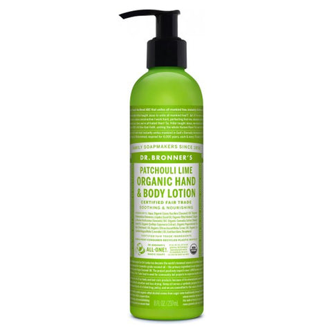 DR. BRONNER'S - Patchouli Lime Organic Lotion
