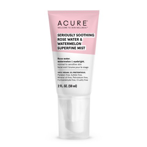 ACURE - Seriously Soothing Rose Water & Watermelon Superfine Mist