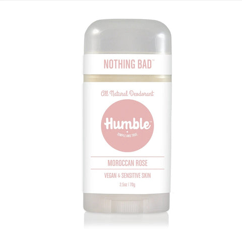 HUMBLE DEODORANT - Sensitive Moroccan Rose Vegan
