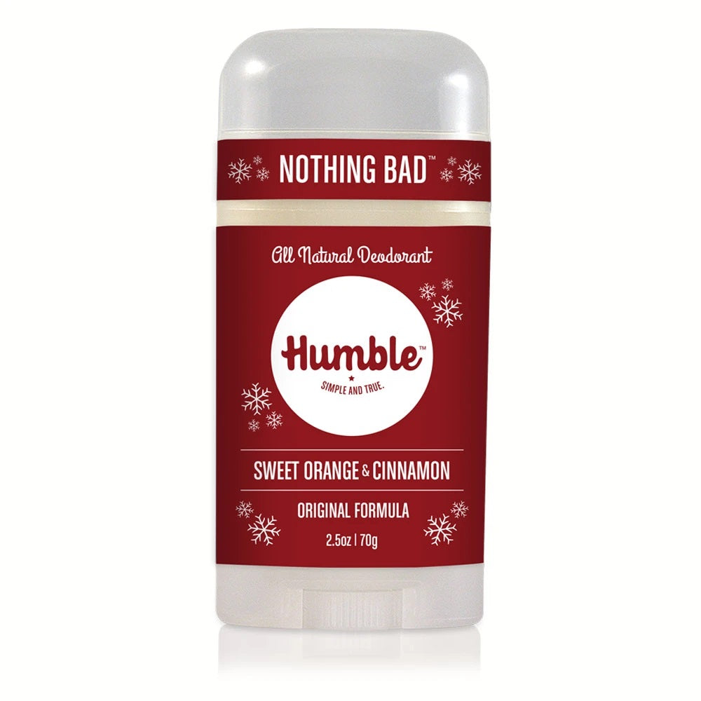 HUMBLE DEODORANT - Sweet Orange & Cinnamon Deodorant