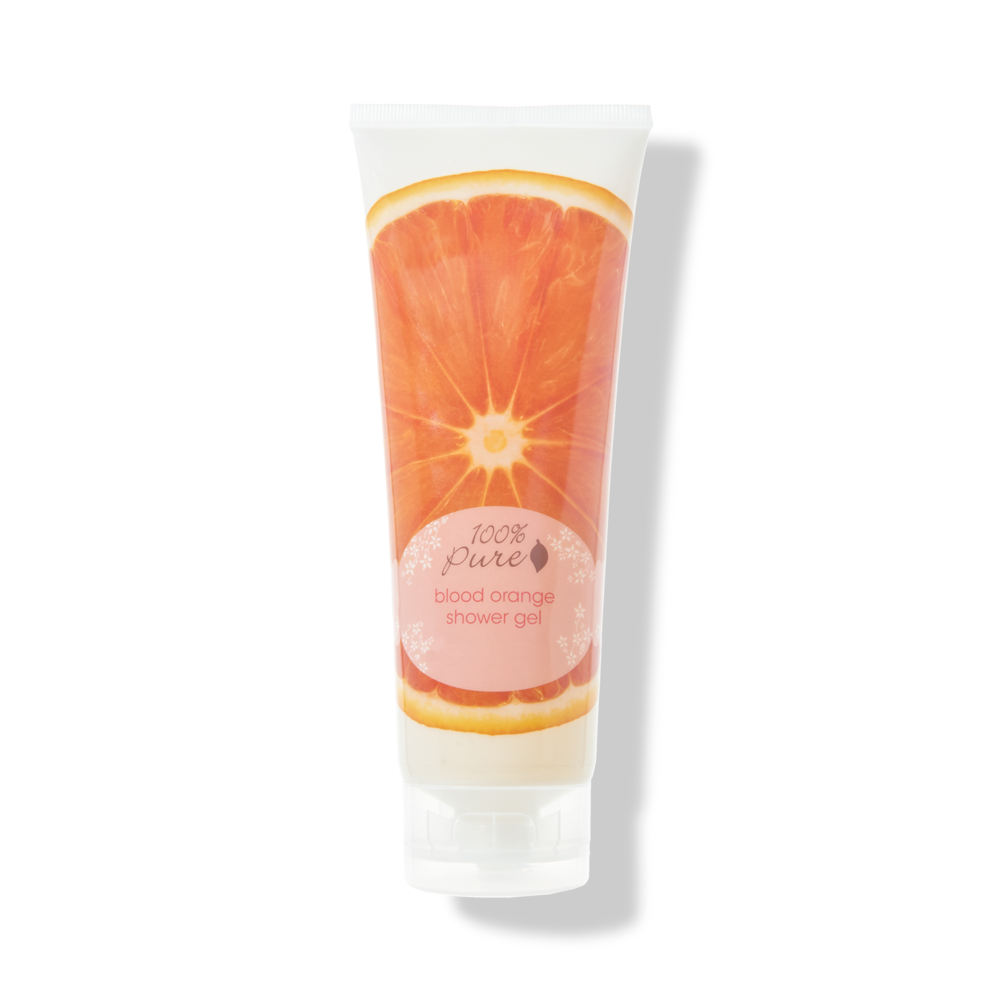 100% PURE - Blood Orange Shower Gel