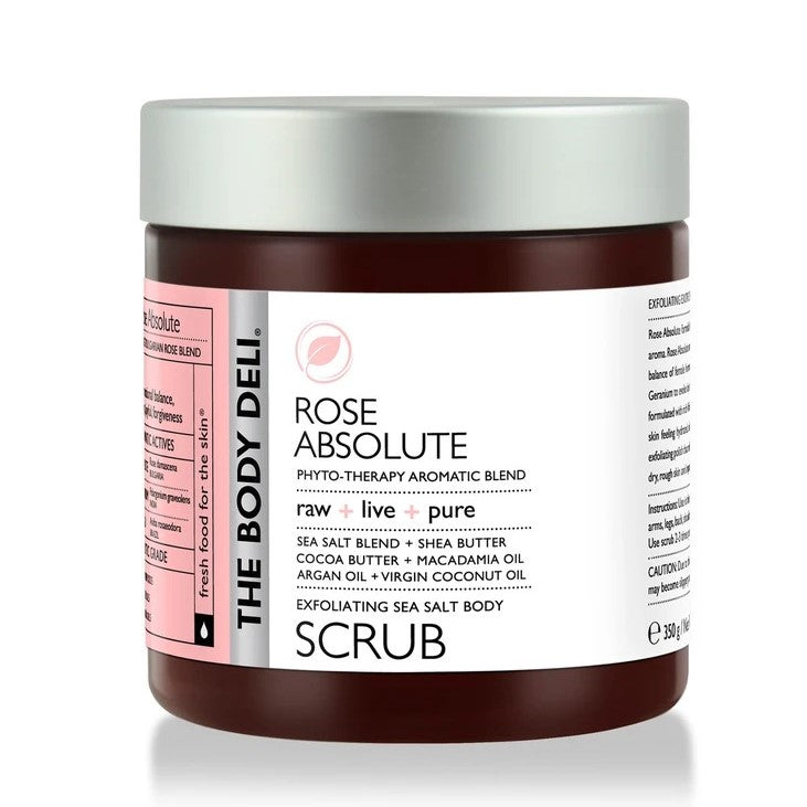 THE BODY DELI - ROSE ABSOLUTE Body Scrub