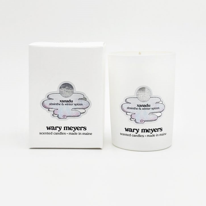 WARY MEYERS - Xanadu Candle, Special Winter Edition