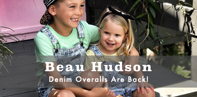 Buy Beau Hudson Denim Overalls Afterpay