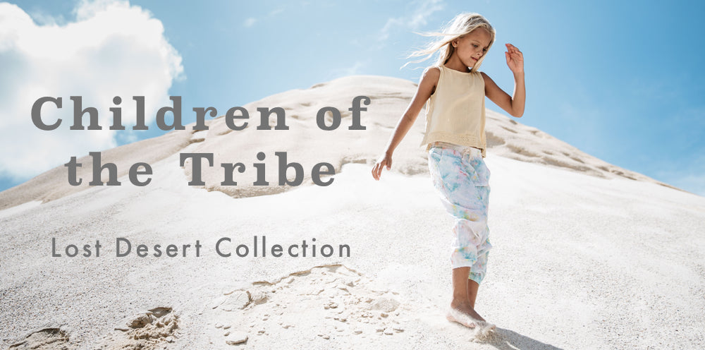 Children of the Tribe Lost Desert SS17 Boho Baby & Kids Clothing Collection