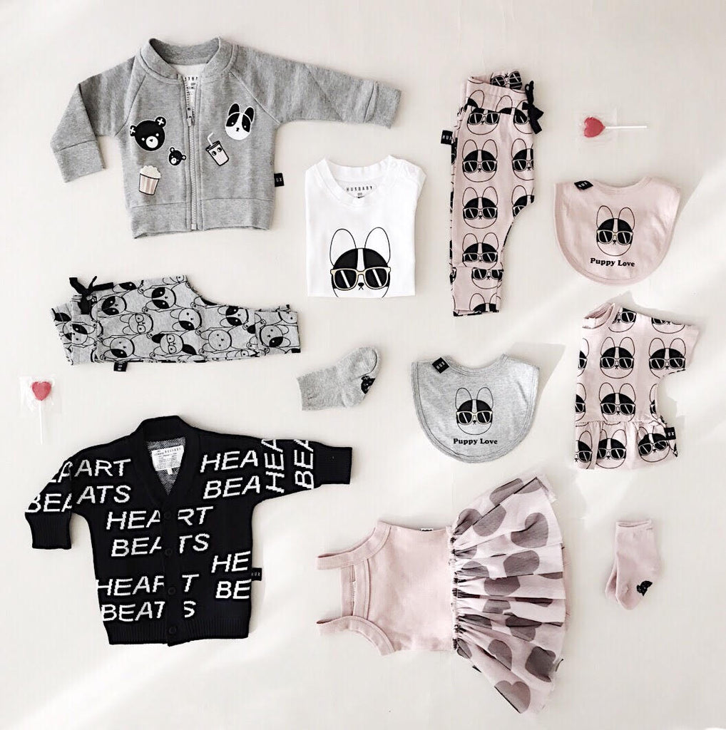 Huxbaby Love Stories SS18 Collection Cool Baby Clothes Online