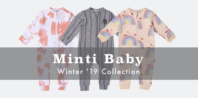 Buy Minti Baby Winter 2019 Collection & Cool Baby Clothes With Afterpay In Australia