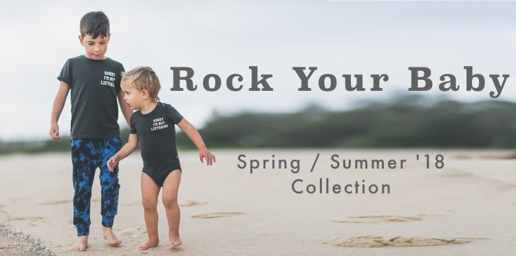 Rock Your Baby SS18 Afterpay Cool Kids Clothes