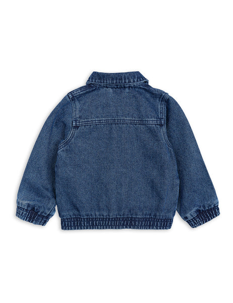 Mini Rodini Denim Tiger Jacket Afterpay Australia