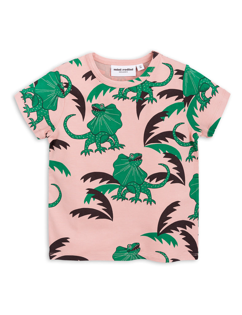 Mini Rodini Draco Green Organic SS Tee Afterpay Cool Kids Clothes