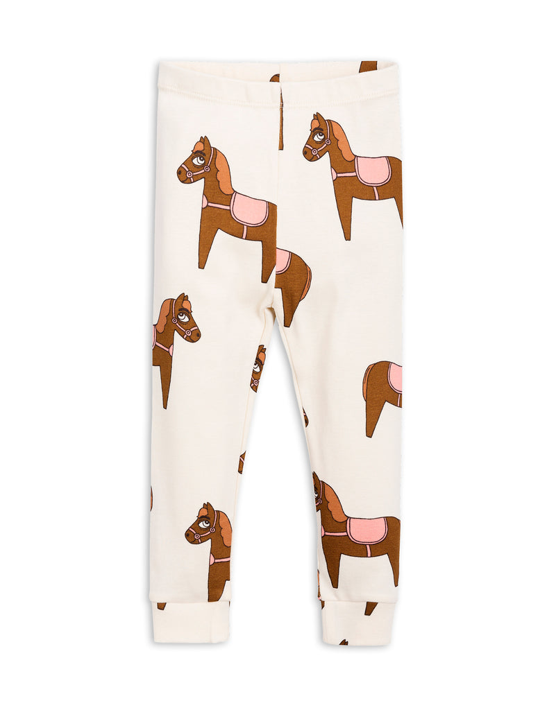 Mini Rodini Horse Pink Organic Leggings Afterpay Cool Kids Clothes