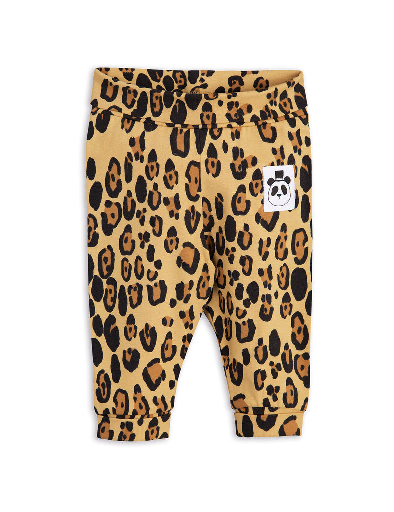 Mini Rodini Basic Leopard Organic Newborn Leggings Afterpay Cool Baby Clothes
