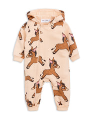 Mini Rodini Donkey Beige Organic Onesie Afterpay Cool Baby Clothes