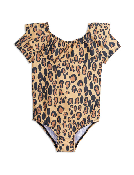 Mini Rodini Leopard SS Swimsuit Afterpay Cool Kids Clothes