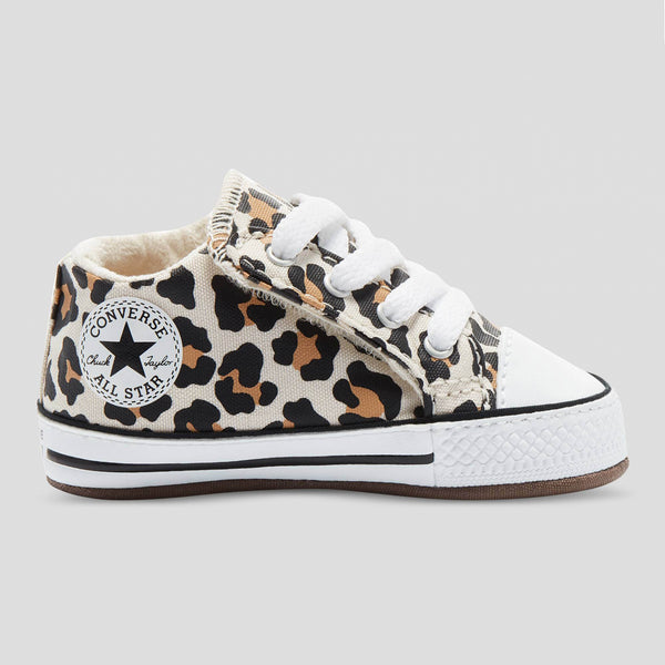 Baby Converse Chuck Taylor All Star Cribster Infant Mid Top Animal Print