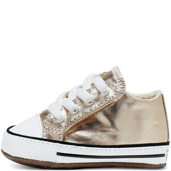 Baby Converse Chuck Taylor All Star Cribster Infant Mid Top Metallic Gold | Last Two