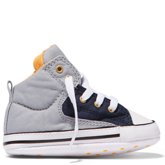 Baby Converse Chuck Taylor First Star High Street Infant Slip | Wolf Grey Afterpay