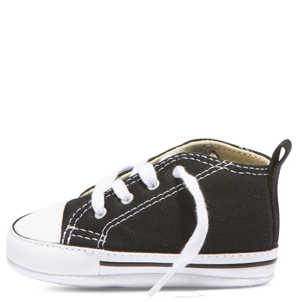 Baby Converse Chuck Taylor First Star Infant High Top Black Kids Shoes Australia