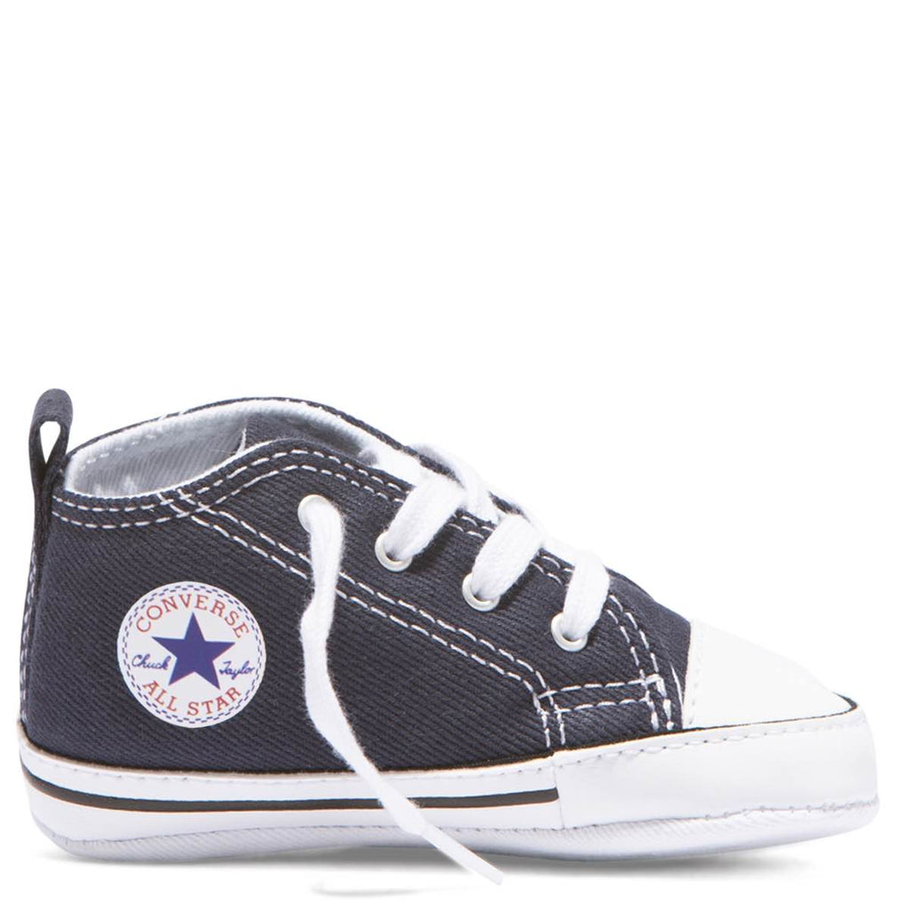 Baby Converse Chuck Taylor First Star Infant High Top Navy Kids Shoes Australia Afterpay