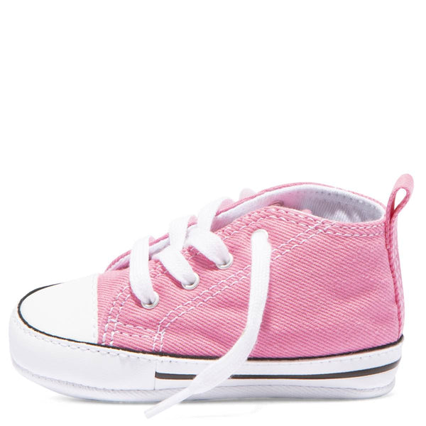 Baby Converse Chuck Taylor First Star Infant High Top Pink Kids Shoes Australia Online