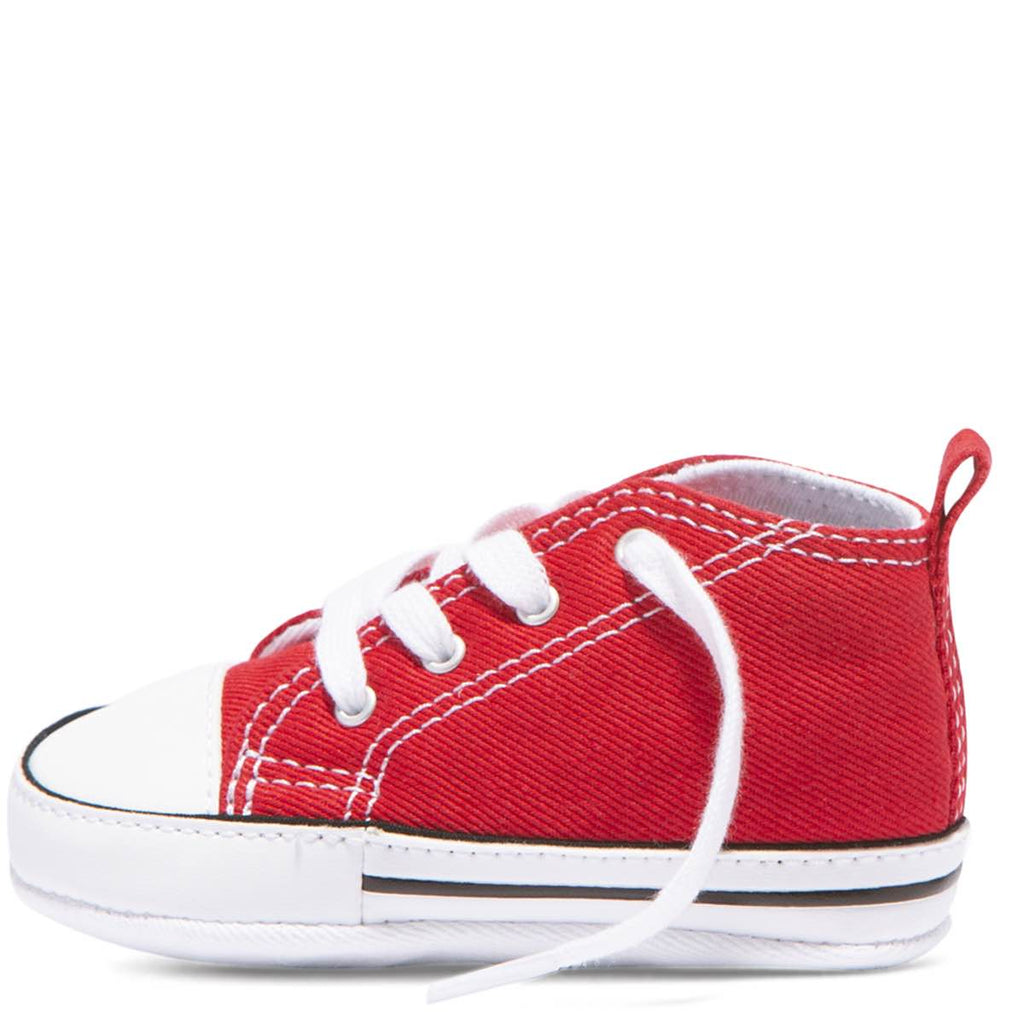 25ddf64217f3 ... Baby Converse Chuck Taylor First Star Infant High Top Red Kids Shoes  Australia Online ...