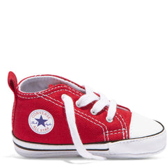 Baby Converse Chuck Taylor First Star Infant High Top Red Kids Shoes Australia Afterpay