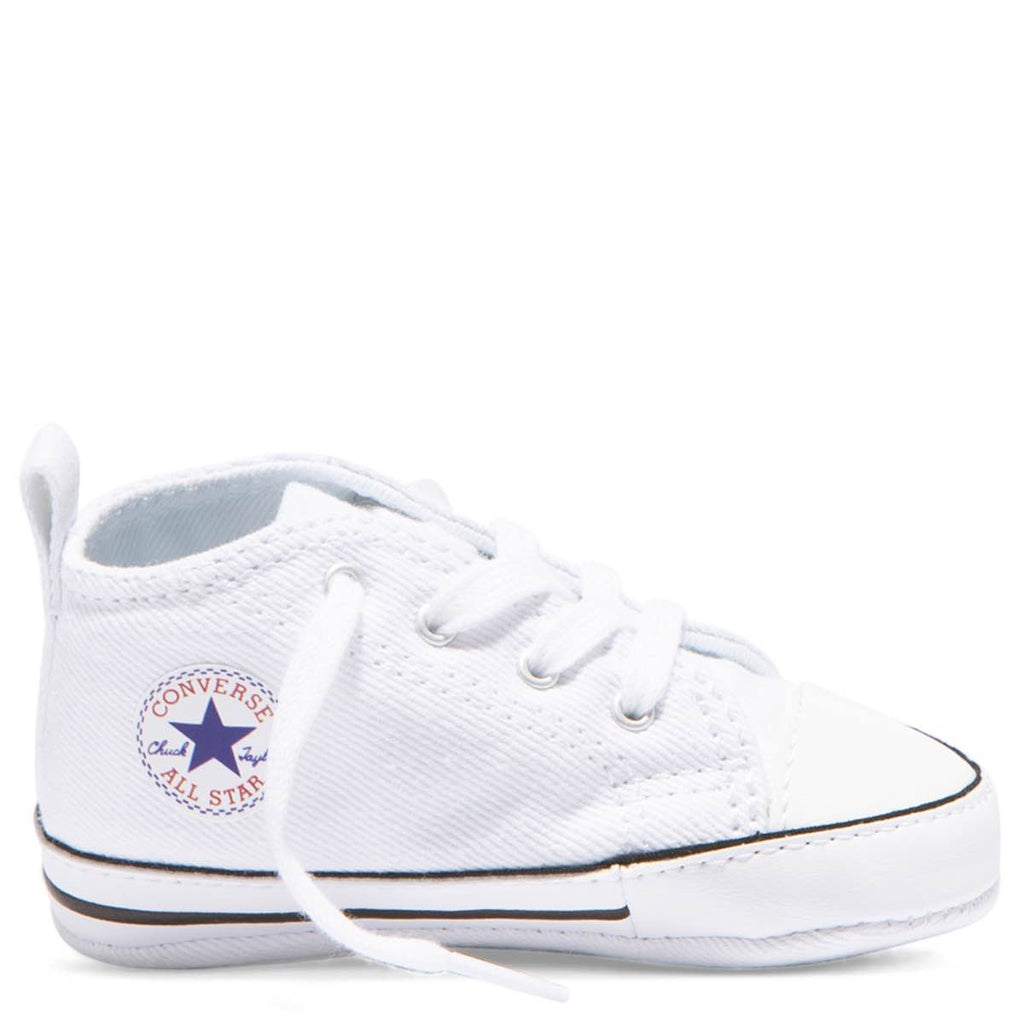 39643b38d1921d Baby Converse Chuck Taylor First Star Infant High Top White Kids Shoes  Australia Afterpay