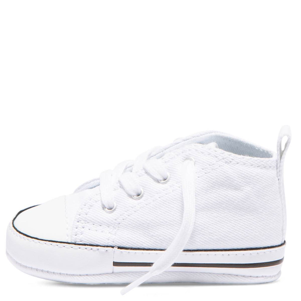 fe19afb6b47541 ... Baby Converse Chuck Taylor First Star Infant High Top White Kids Shoes  Australia Online ...