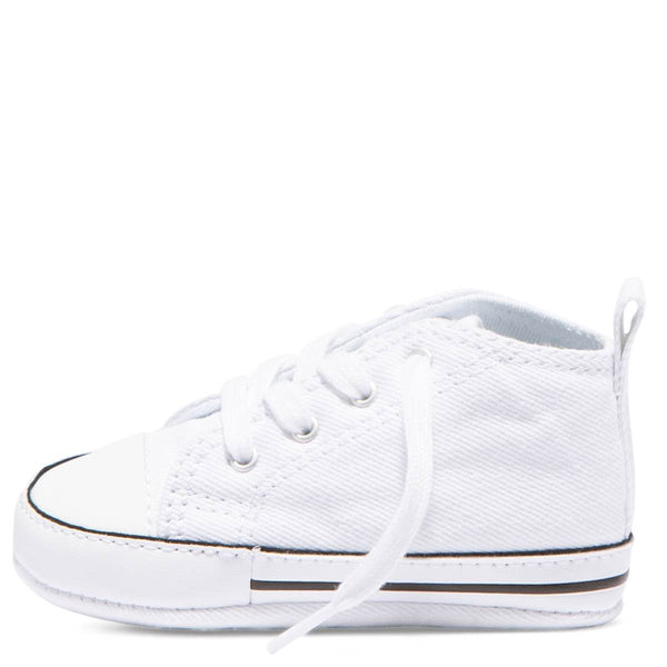 Baby Converse Chuck Taylor First Star Infant High Top White Kids Shoes Australia Online