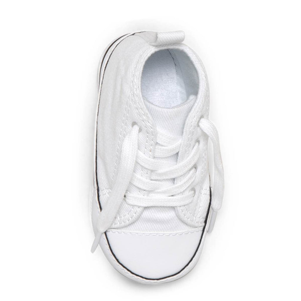 95bdd1dda16cde ... Baby Converse Chuck Taylor First Star Infant High Top White Toddler  Shoes Australia Online ...