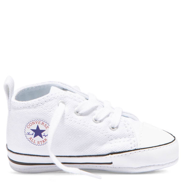 Baby Converse Chuck Taylor First Star Infant High Top White Kids Shoes Australia Afterpay