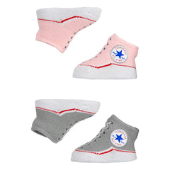 Baby Converse Chuck Taylor Newborn Knit Booties 2 Pack Pink