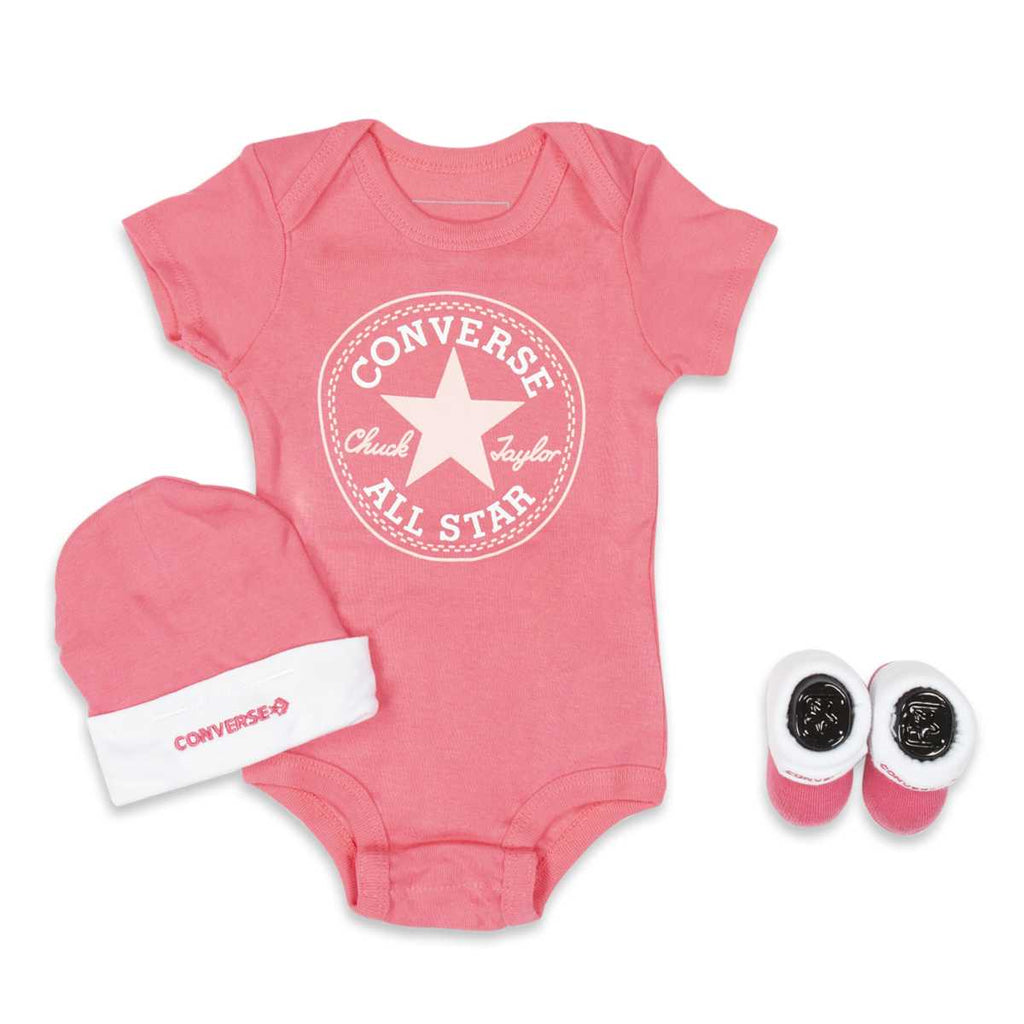 Baby Converse Chuck Taylor Newborn Set Arctic Punch Afterpay
