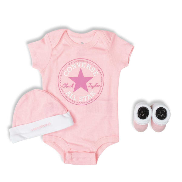 Baby Converse Chuck Taylor Newborn Set Pink Lemonade Afterpay