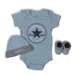Baby Converse Chuck Taylor Newborn Set Pacific Blue Afterpay