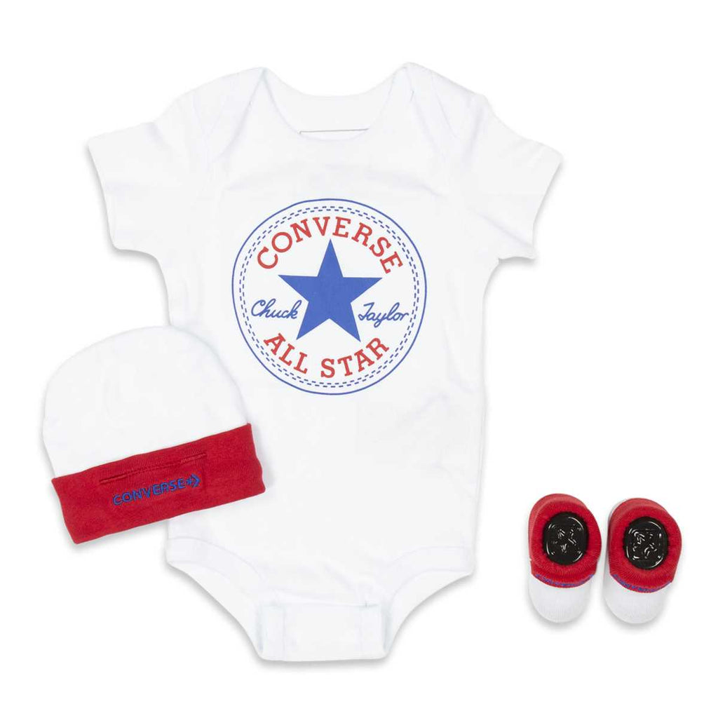Baby Converse Chuck Taylor Newborn Set White Afterpay