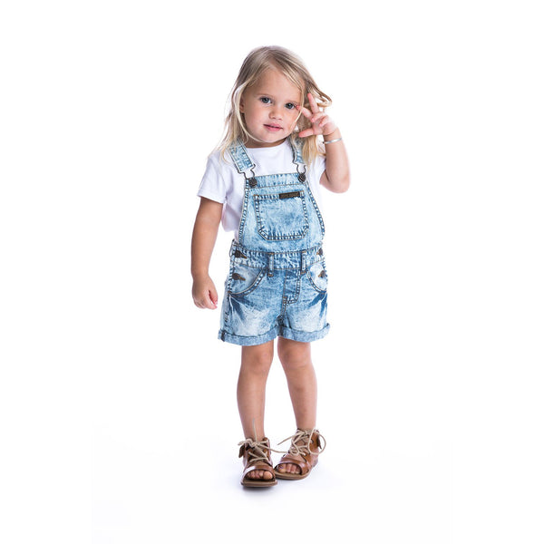 Beau Hudson Acid Wash Denim Overalls Cool Toddler Clothes