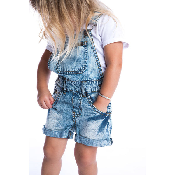 Beau Hudson Acid Wash Denim Overalls Cool Kids Clothes