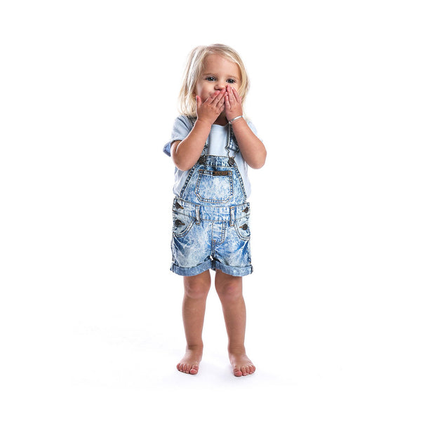 Beau Hudson Acid Wash Denim Overalls Cool Baby Clothes