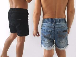 Beau Hudson Black Denim Shorts