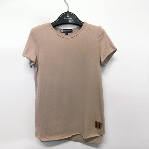 Beau Hudson Raw Edge Blush Tall Tee